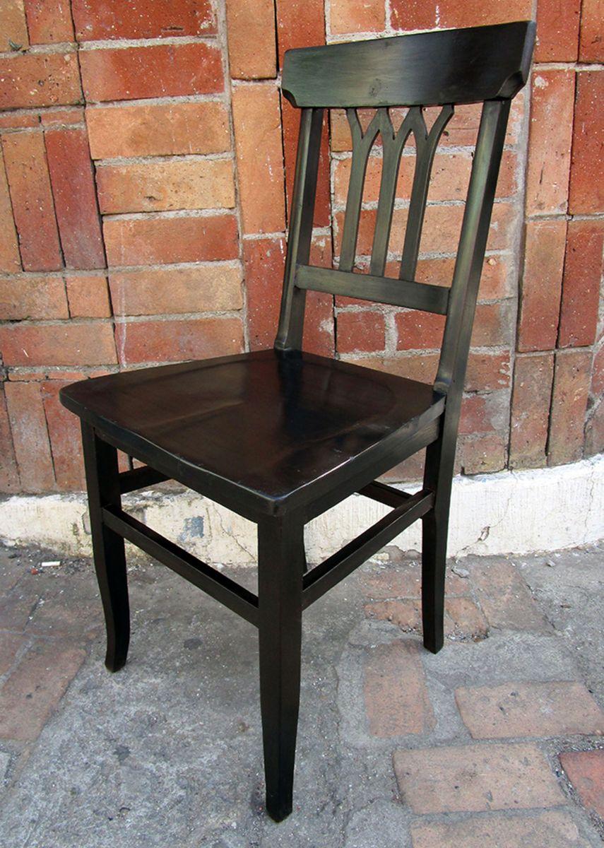 Image of: Cadeira Antiga De Madeira Anos 50 Restaurada Movel De Antiquario Usado 24144170 Enjoei