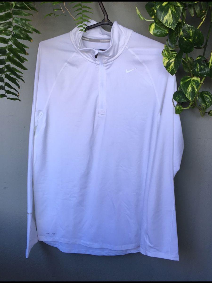 casaco branco nike - casaquinhos nike