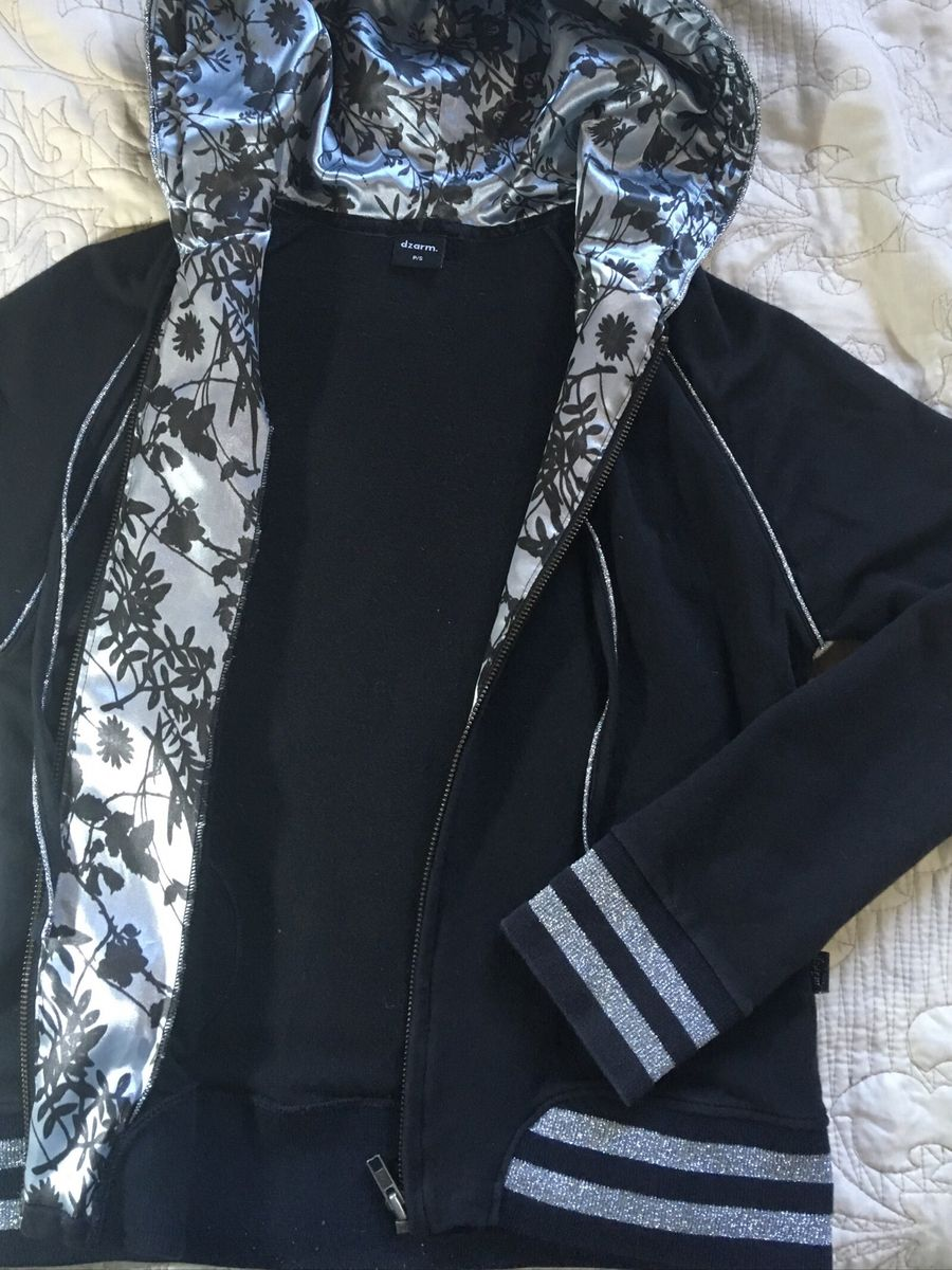 casaco feminino moletom preto - casaquinhos sem marca