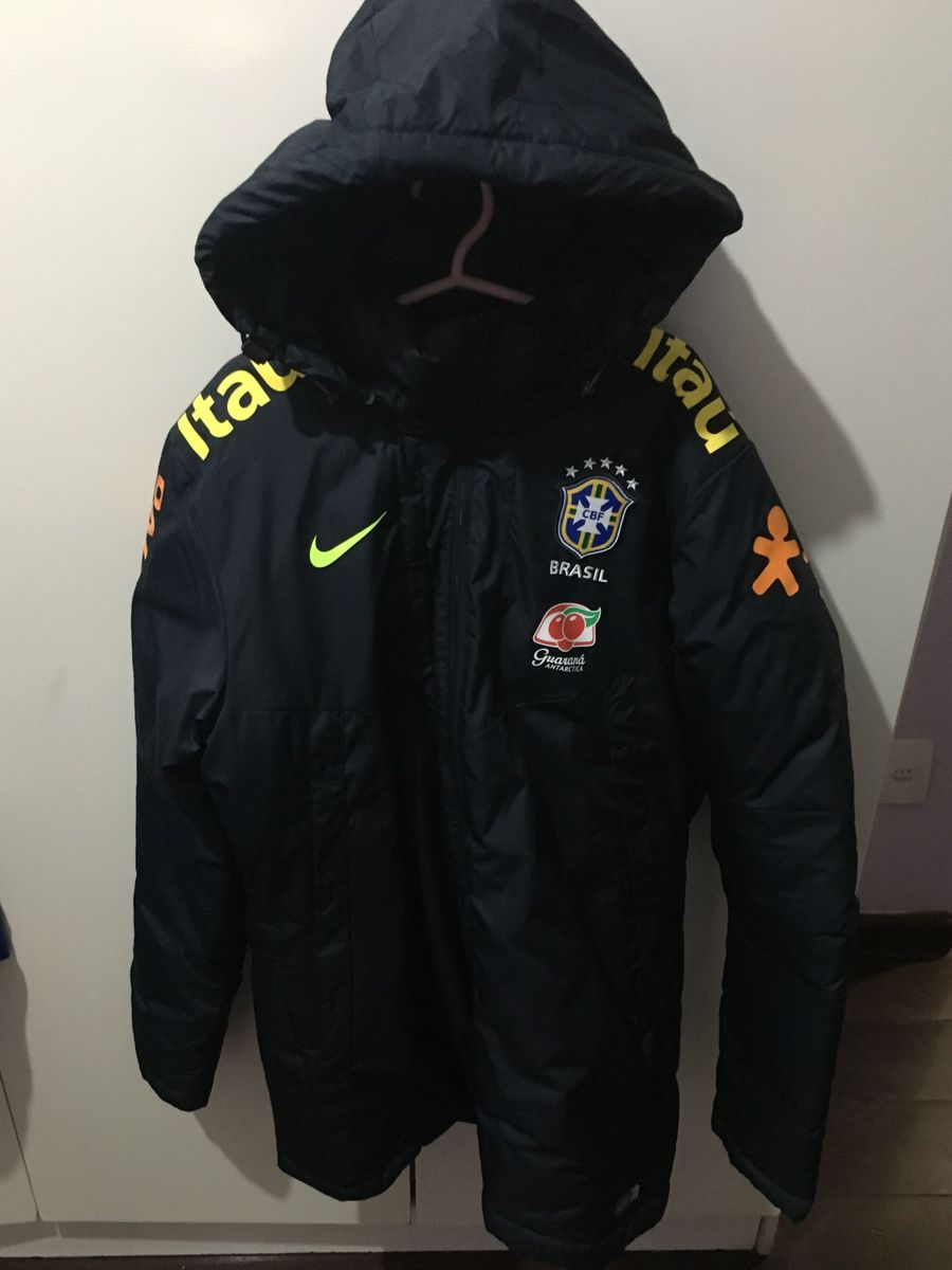 casaco fofão nike seleção brasileira - casacos nike 4d2ec1f734b06