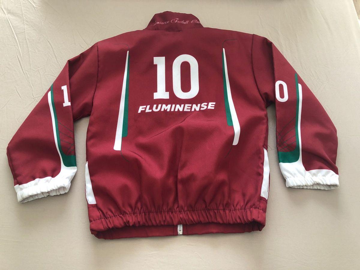 c310c36c45 Casaco Oficial Fluminense 6 Anos - Muito Novo