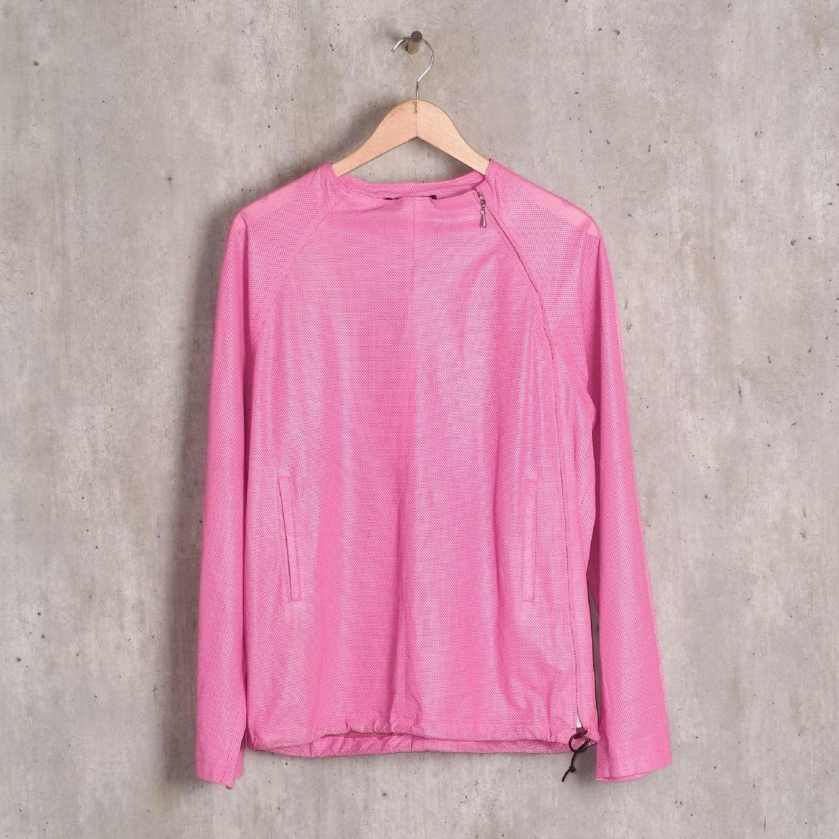 casaco rosa em couro gucci - casaquinhos gucci