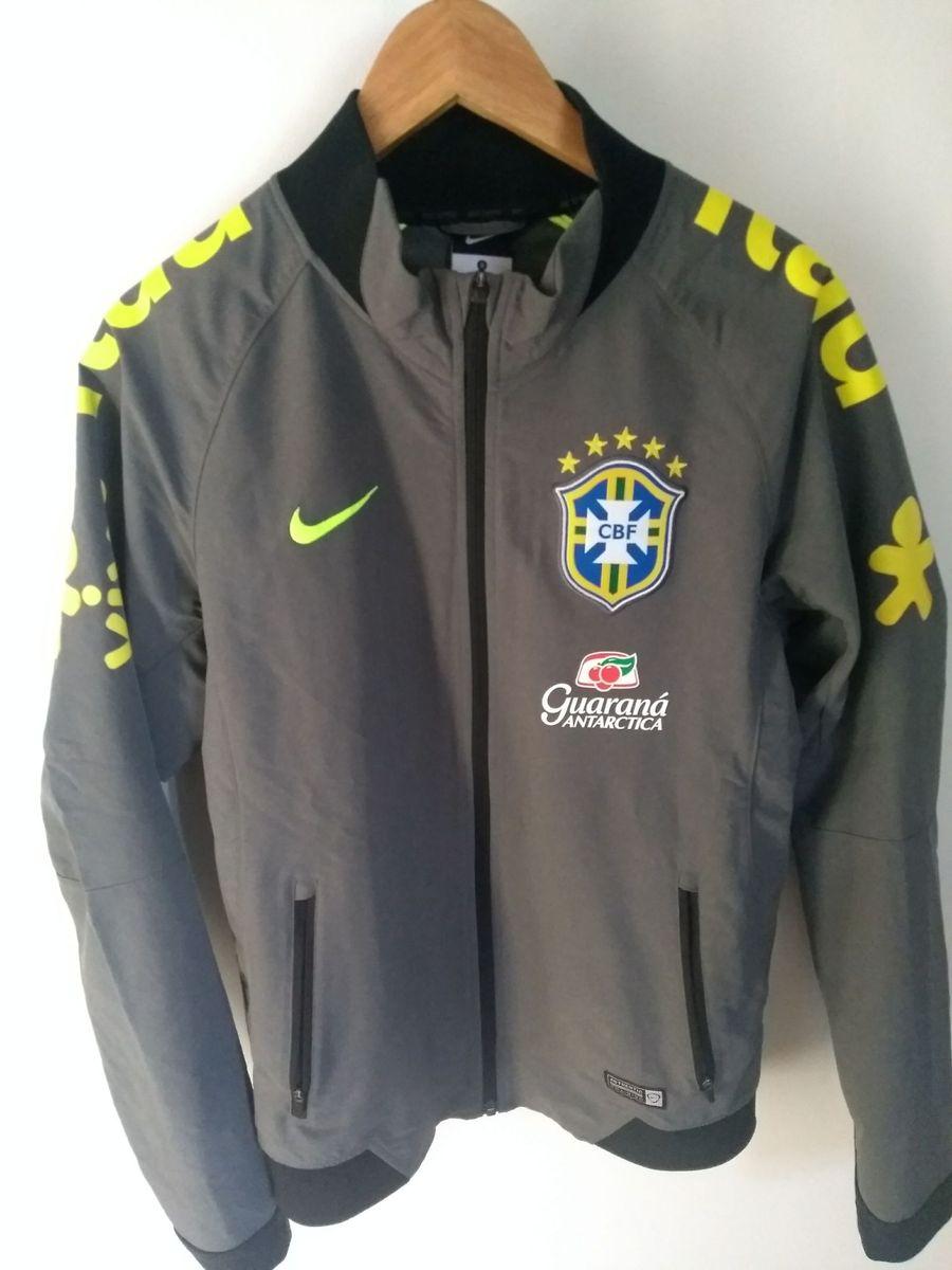 casaco seleção brasileira original - casacos nike 57d263ceae819