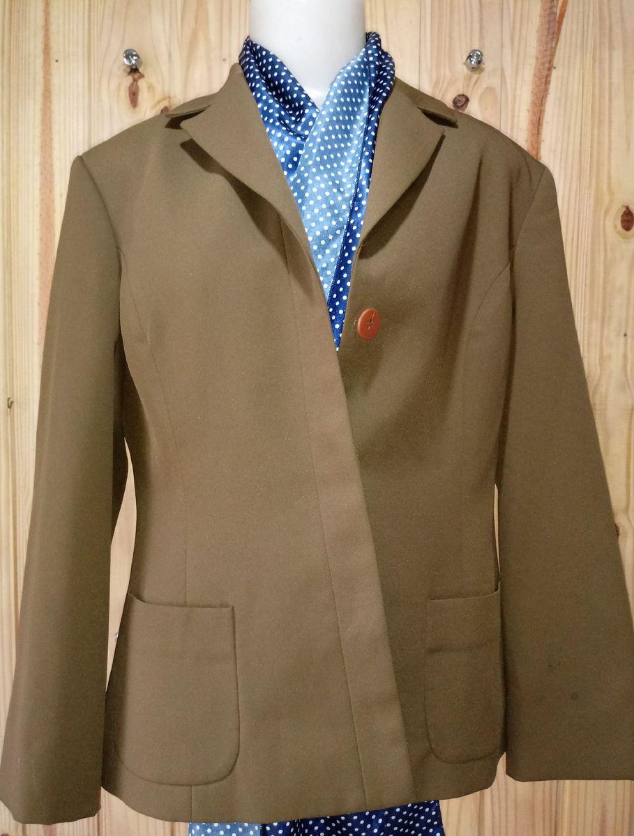 casaco social oliva - - casaquinhos ebony