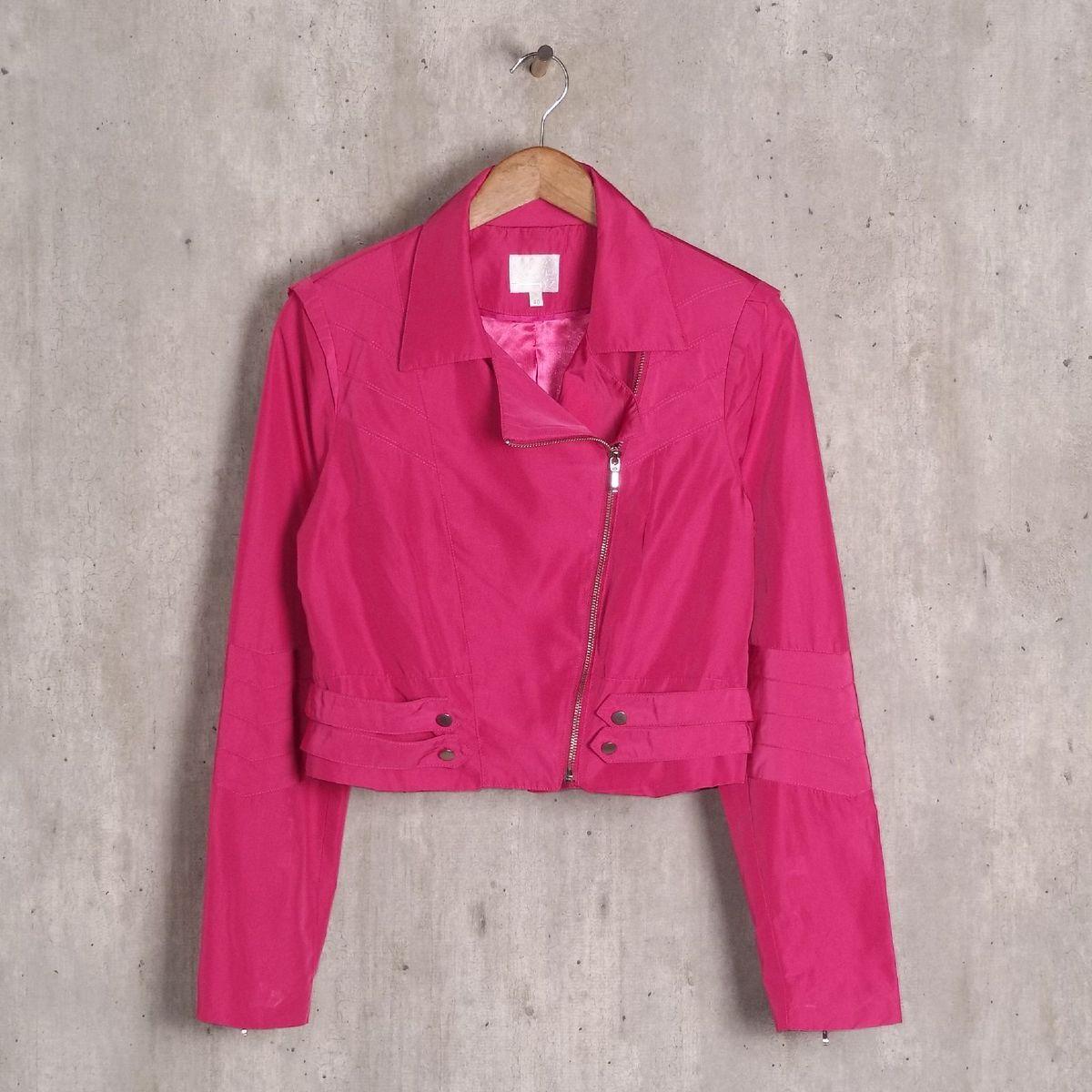casaquinho rosa escuro tvz - casaquinhos tvz