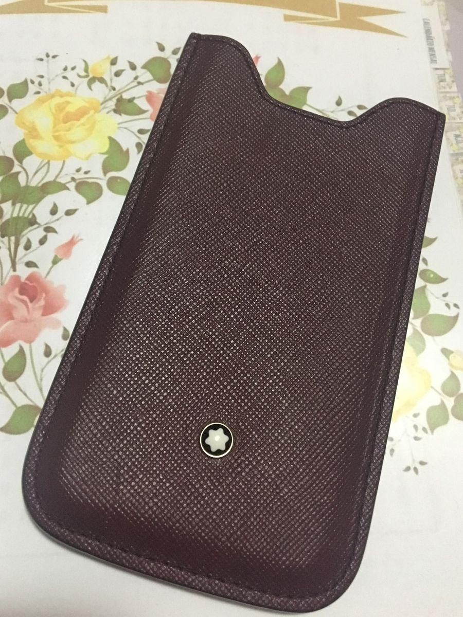 92042ce3e Case (capa Celular) Mont Blanc Original Iphone 5, 5s e 5c | Iphone ...