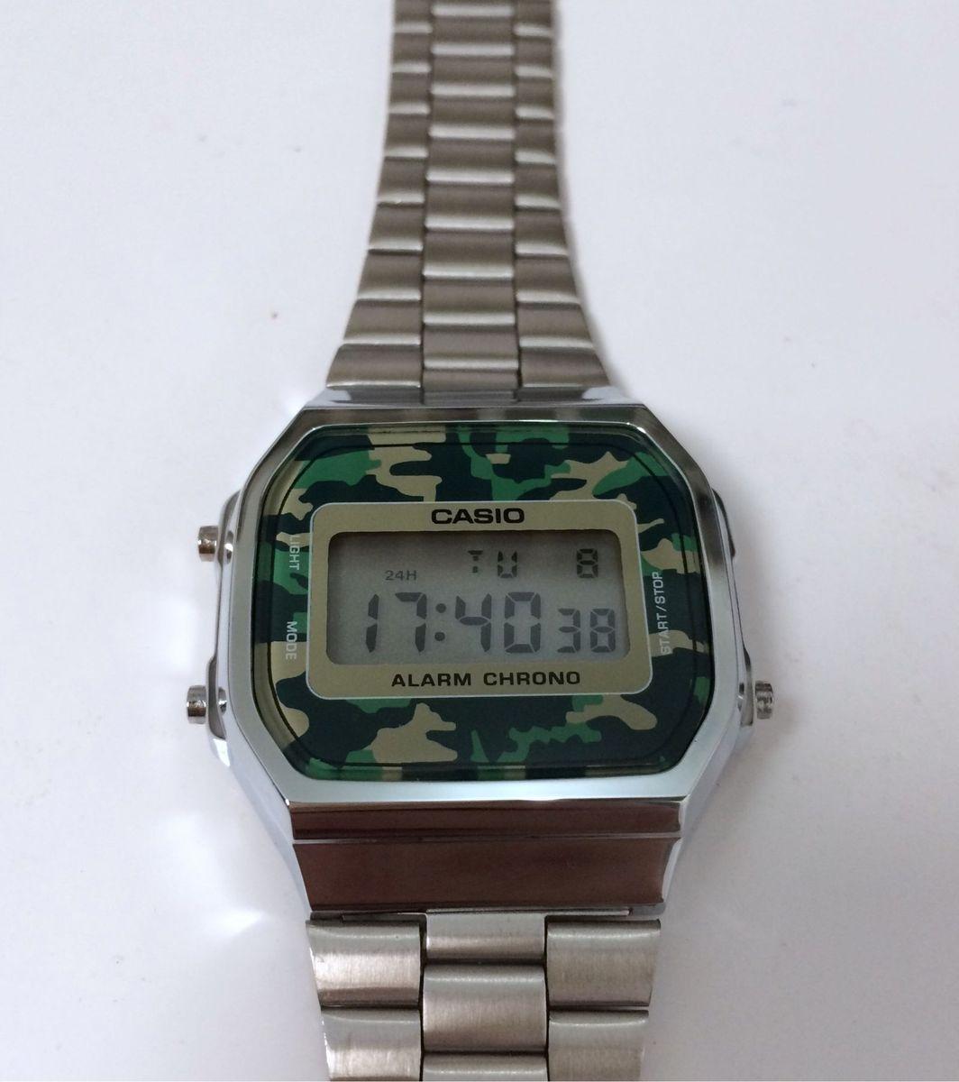 1d1c2d1cbc2 casio a168 prata camuflado - relógios casio.  Czm6ly9wag90b3muzw5qb2vplmnvbs5ici9wcm9kdwn0cy82ody1mdq2lzayymi0ymiymwqxzjm1ntqxytfingizogm3ztfhmwuylmpwzw  ...
