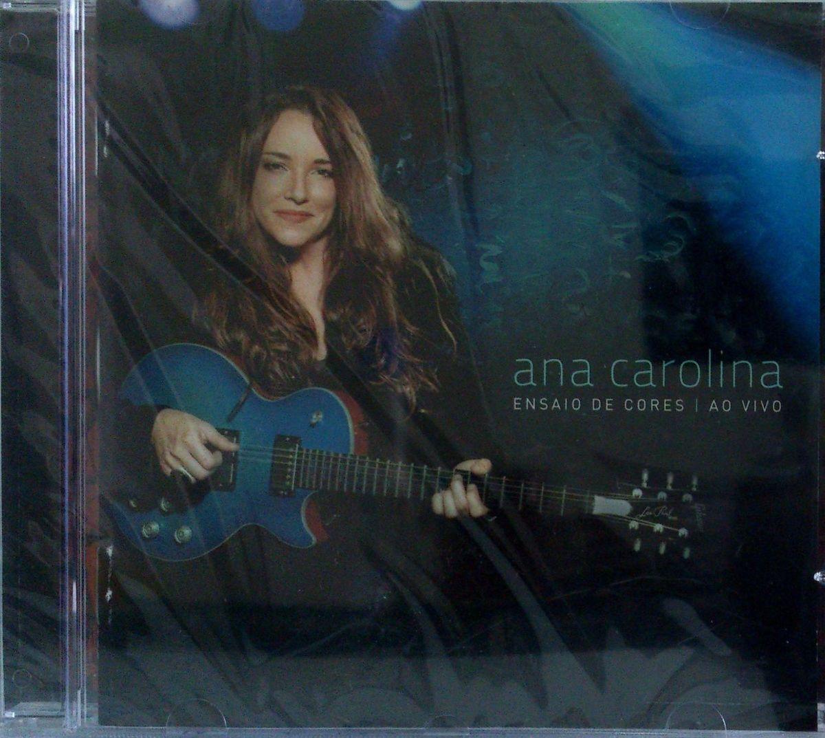 cd ana carolina - ensaio de cores - ao vivo - cd lacrado - música sem adb404fbcbb