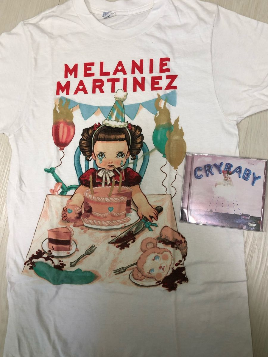 cd + camiseta melanie martinez - camisetas martinez melanie