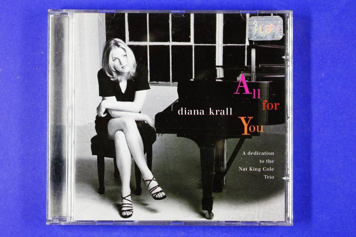 Cd Diana Krall All For You A Dedication To The Nat King Cole Trio 1996 Item De Música Universa Music Usado 41183291 Enjoei