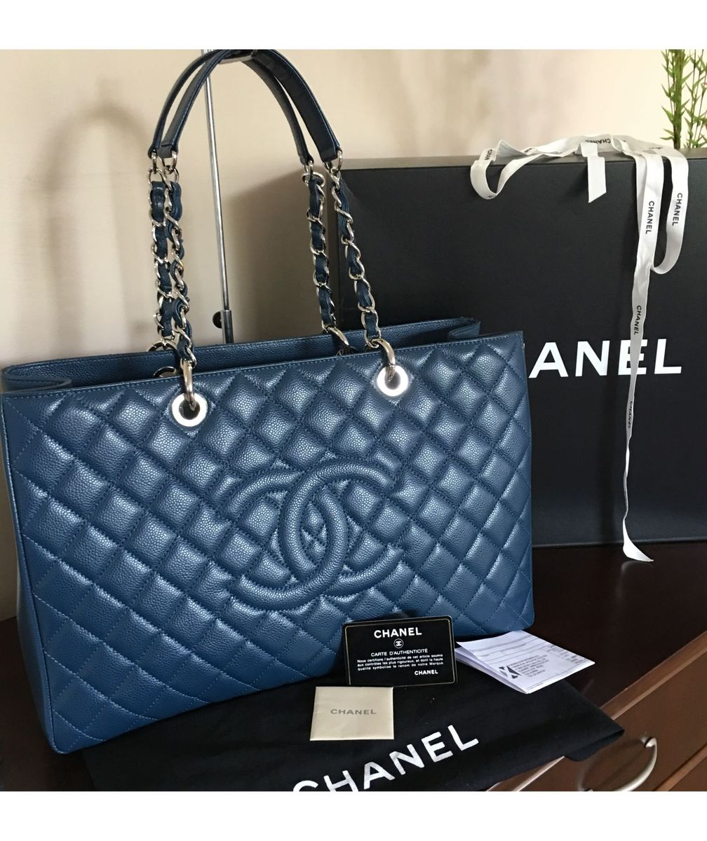 41891c107 Chanel Grand Shopping Tote Original | Bolsa de Ombro Feminina Chanel ...