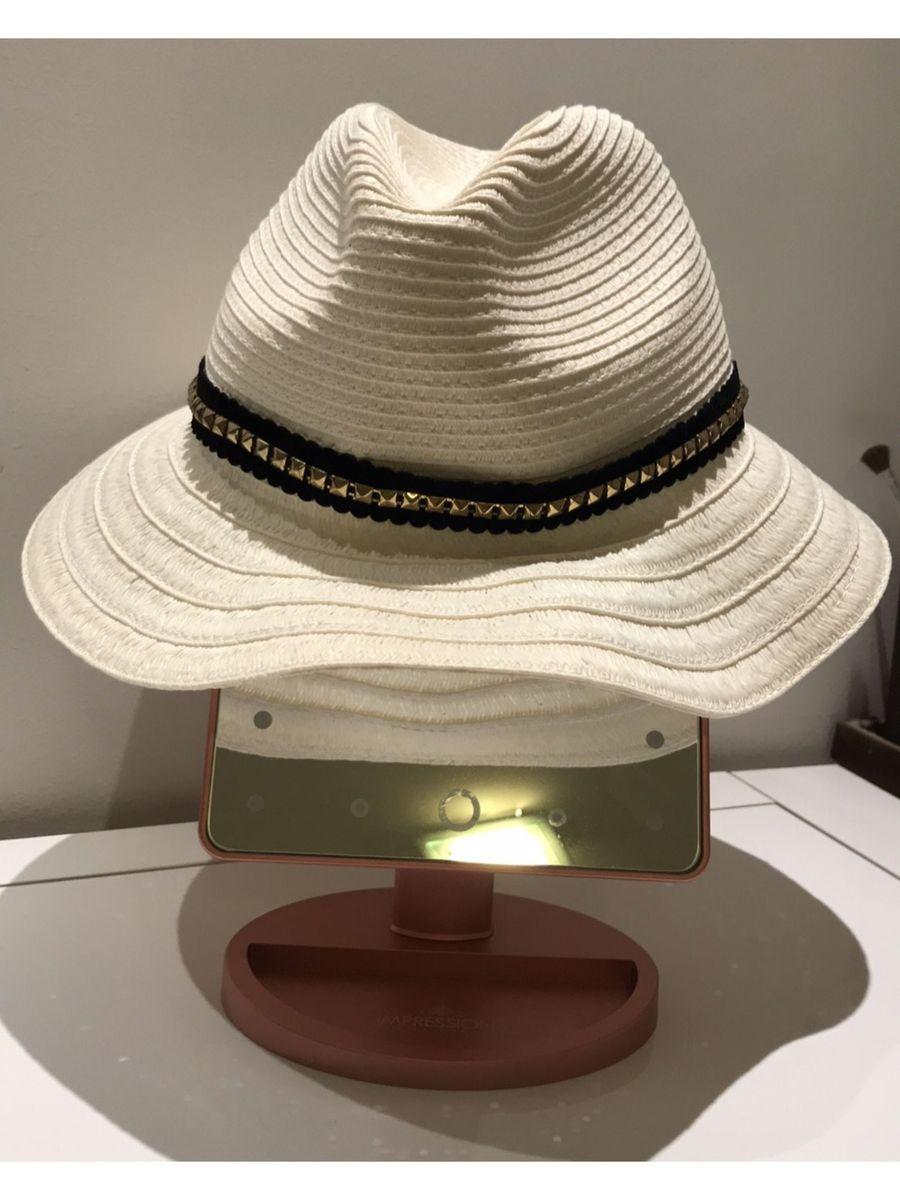 chapéu de palha cru com faixa detalhe - chapeu bebe fba9739382c