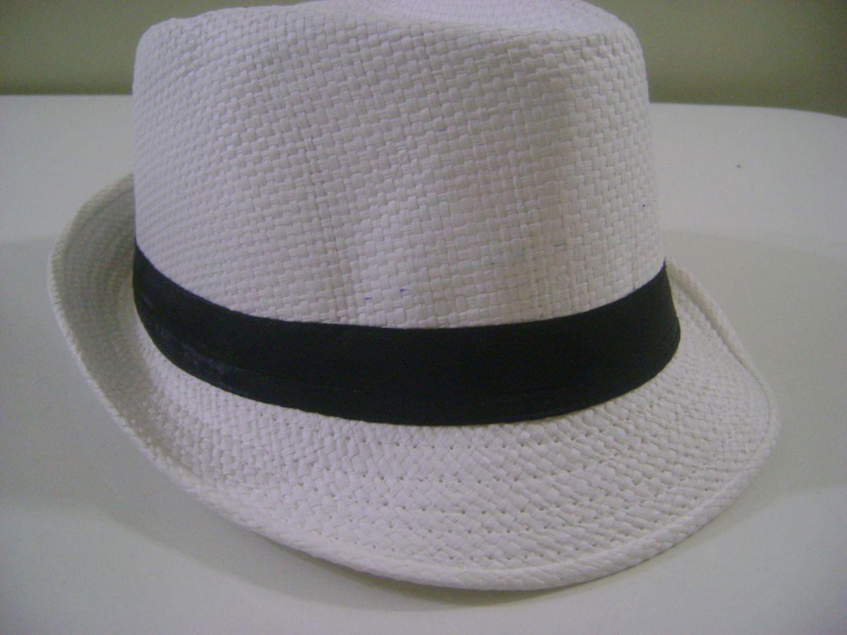 chapéu fedora estilo panamá clássico - chapeu importado 62acf200847