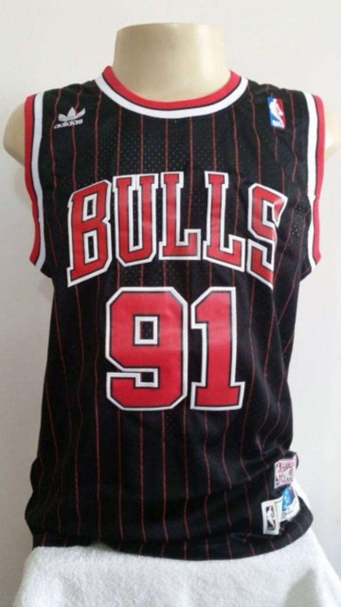 chicago bulls - dennis rodman - espetacular - esportes adidas 1c7e2bd690c93