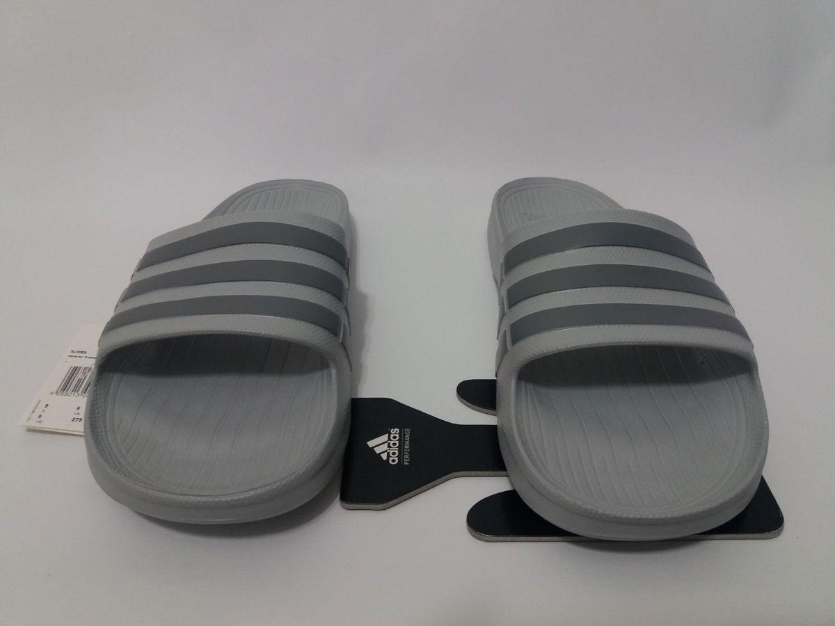 con las manos en la masa Disponible Simular  Chinelo Adidas Duramo Slide Cinza Original | Sandália Feminina Adidas Nunca  Usado 36470365 | enjoei