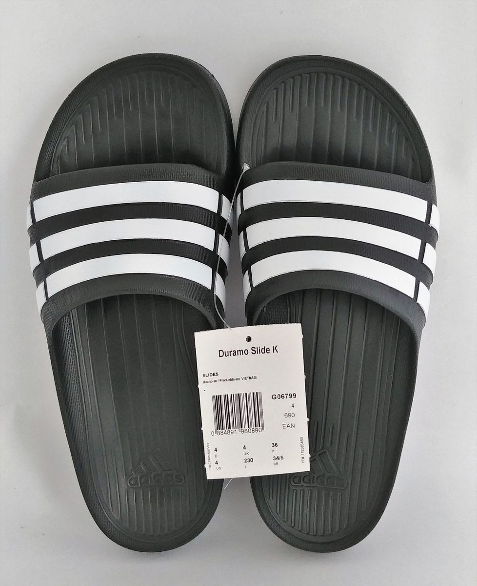 1f899844da52ee chinelo adidas duramo slide k infantil - menino adidas
