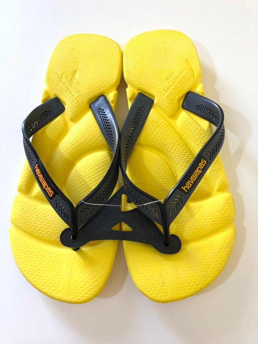 67dab43f9 chinelo masculino havaianas power amarela - nº 45   46 - sandálias havaianas
