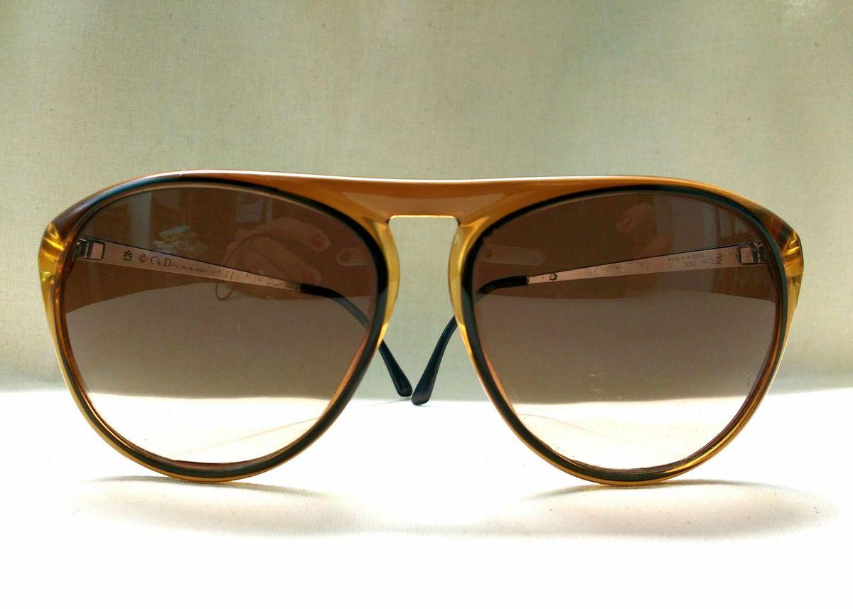 christian dior - aviador original anos 70 - óculos christian-dior 9a37e9f893