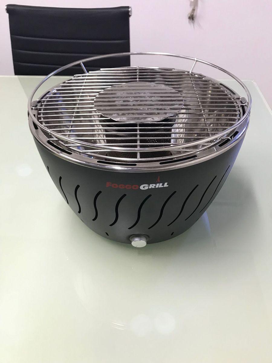 Churrasqueira De Mesa A Carvão Móvel P Casa Foggo Grill Usado 35093144 Enjoei