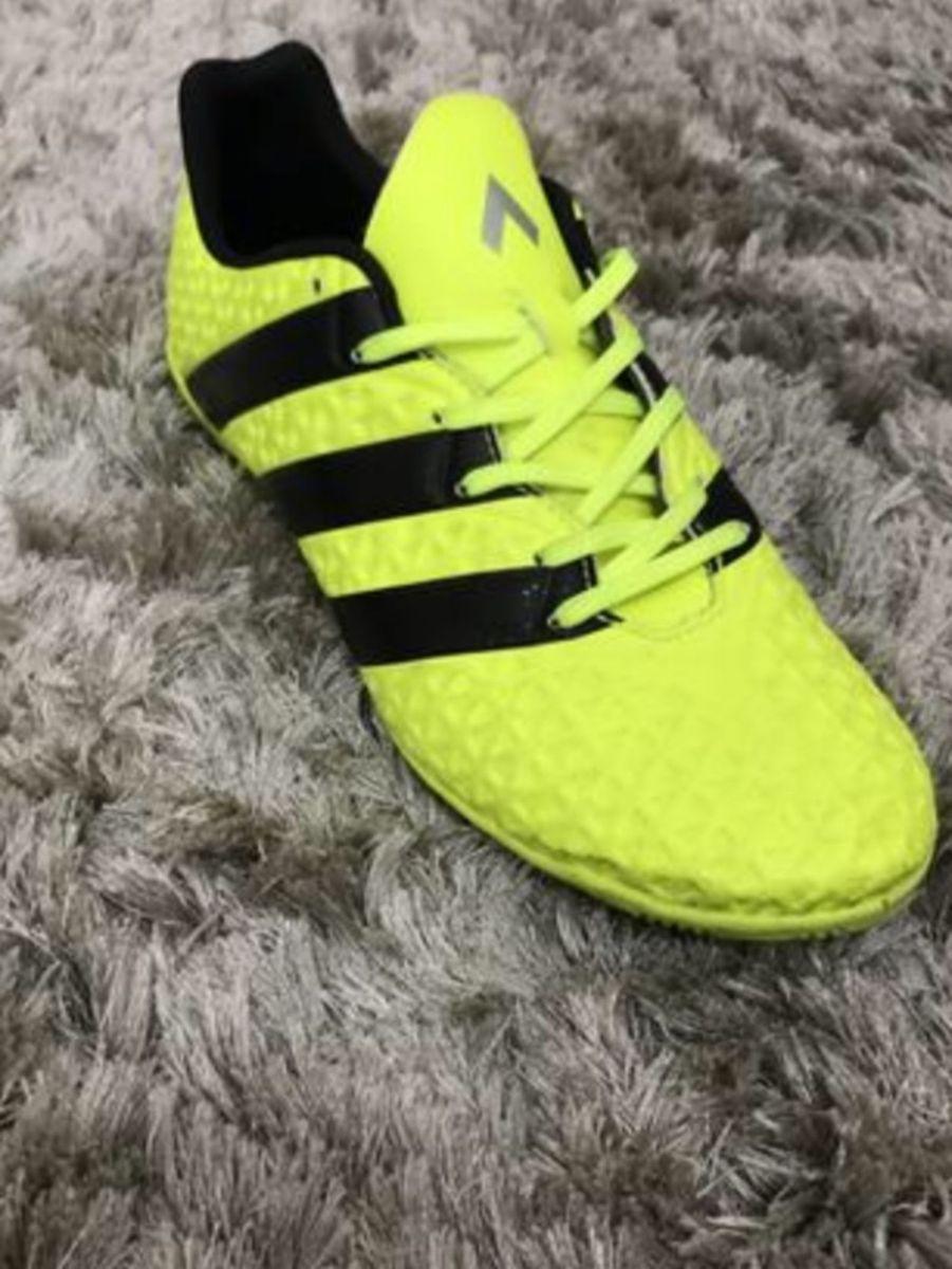 chuteira adidas ice 16.4 in futsal - tênis adidas dc17972a143e8