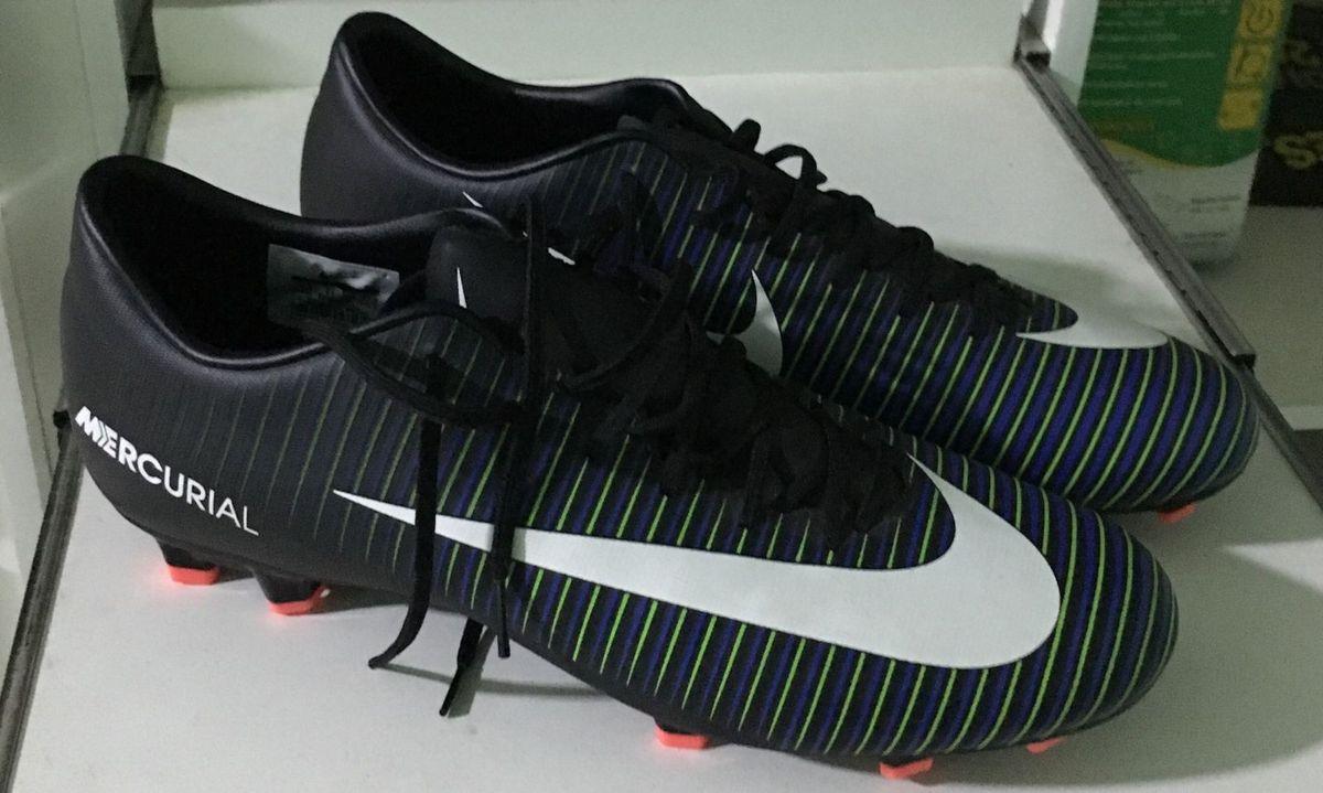 22df1f4aa5 Chuteira Nike Mercurial Campo Roupa Esportiva Masculino Nike Nunca