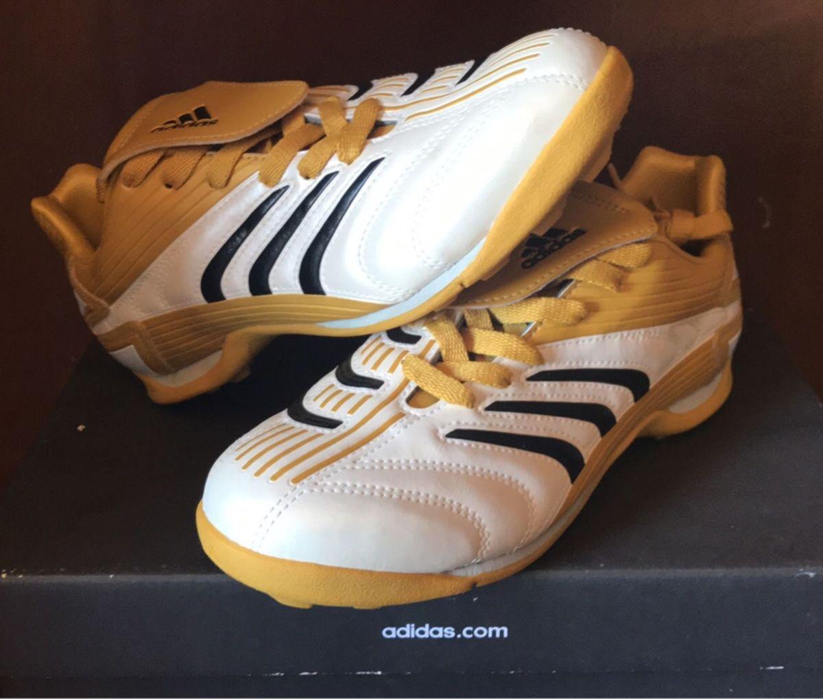 3cd7084ddd chuteira society adidas predito juvenil (diversos tamanhos) - esportes  adidas