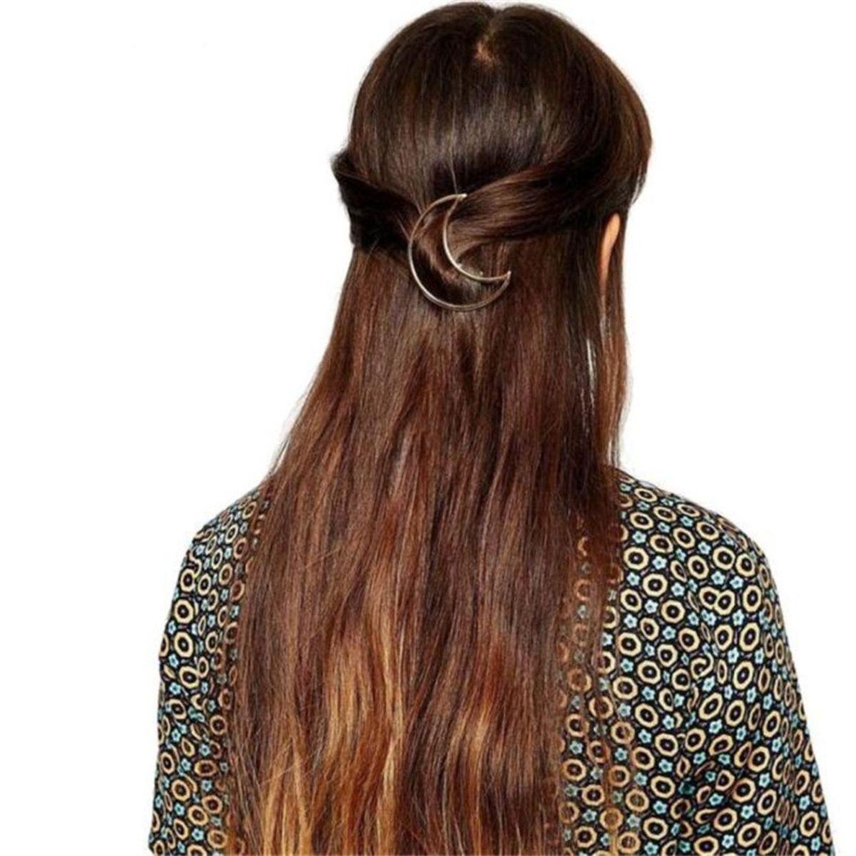 clip presilha grampo tic tac lua - cabelos sem marca