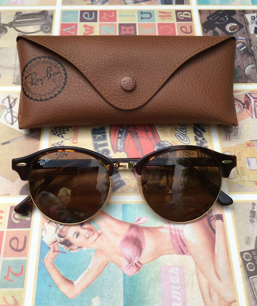 clubround marrom tartaruga - óculos ray ban.  Czm6ly9wag90b3muzw5qb2vplmnvbs5ici9wcm9kdwn0cy80odaynza5l2flmmq1nty2zjiyzjlkmjrmmdc0ntvknje3mwixndywlmpwzw  ... 783edc6979