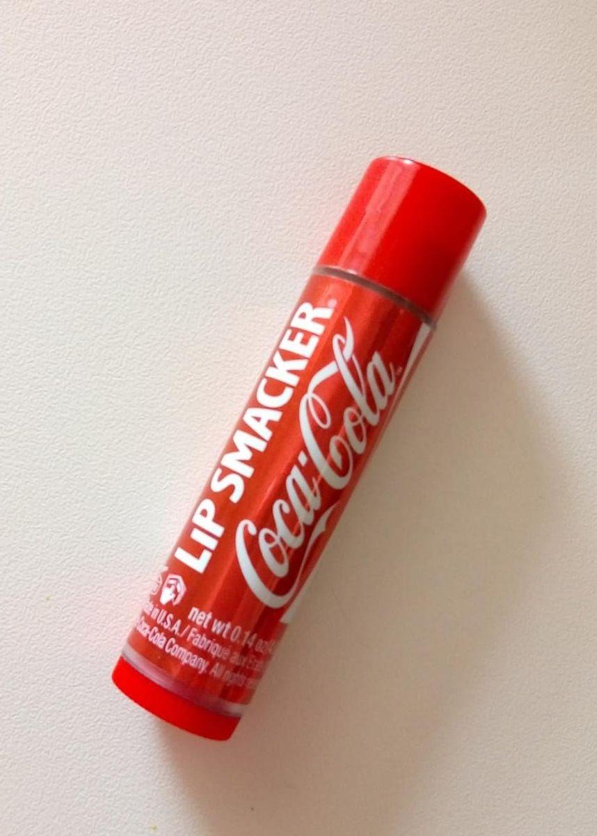 coca-cola lip smacker hidratante protetor labial - maquiagem coca cola