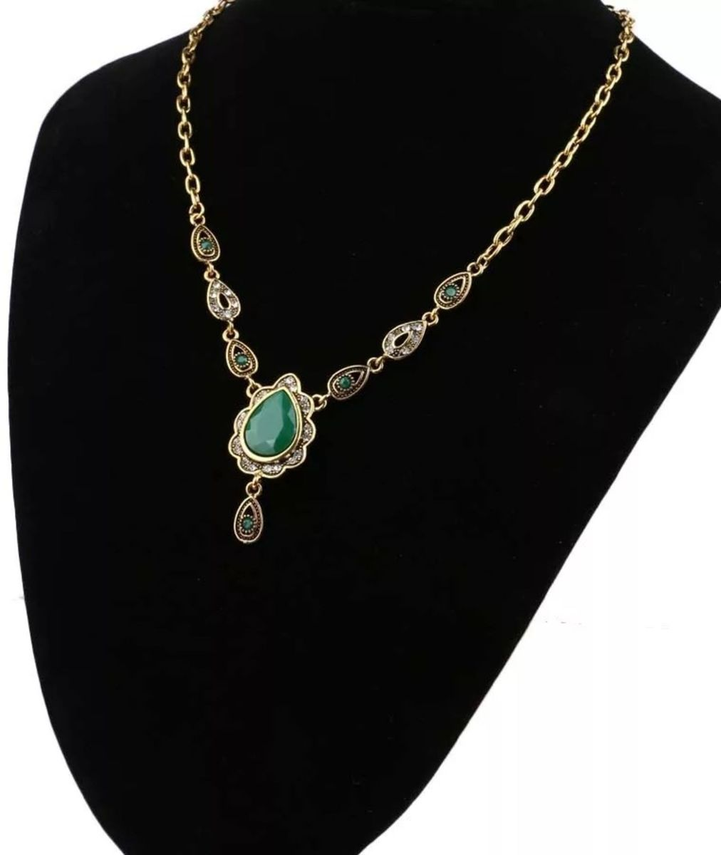 colar estilo indiano - bijoux sem-marca