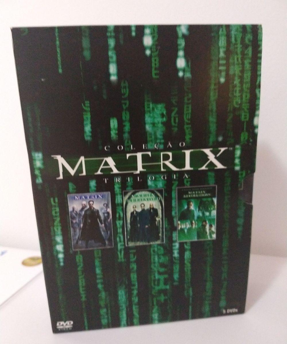 coleção matrix trilogia - filmes e séries warner bros