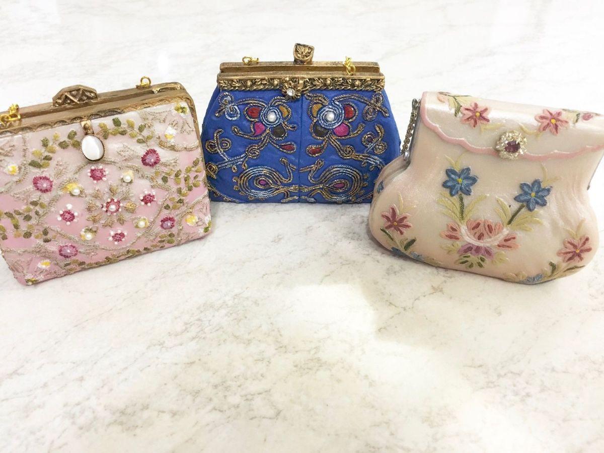 coleção mini bolsas resina - decoração sem marca