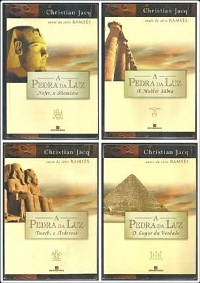 coleção pedra da luz - livros - livraria bertrand brasil