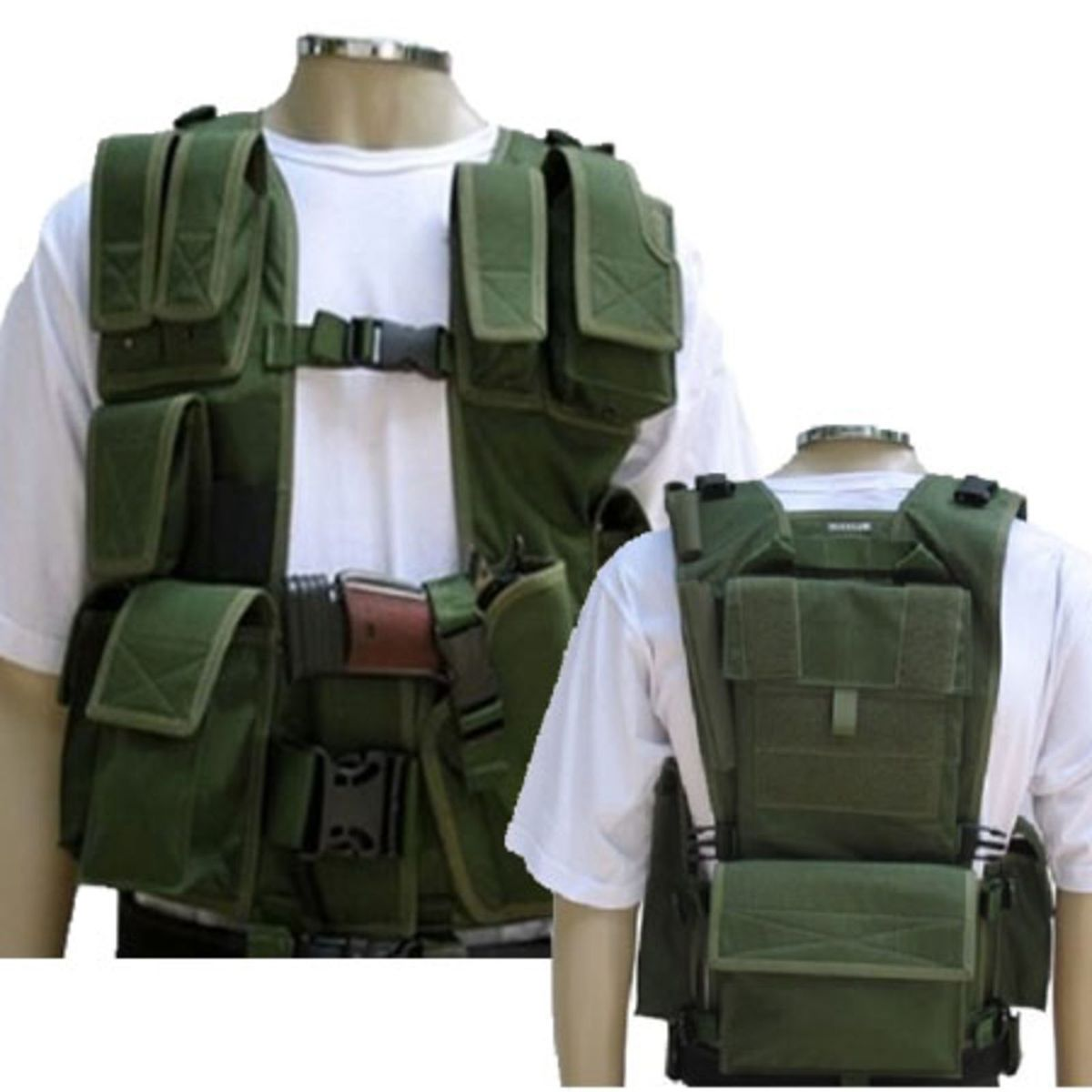 Colete Tático de Assalto Modelo Israelense Combate Militar Airsoft  Paintball Segurança Polícia  2629c3ec84244