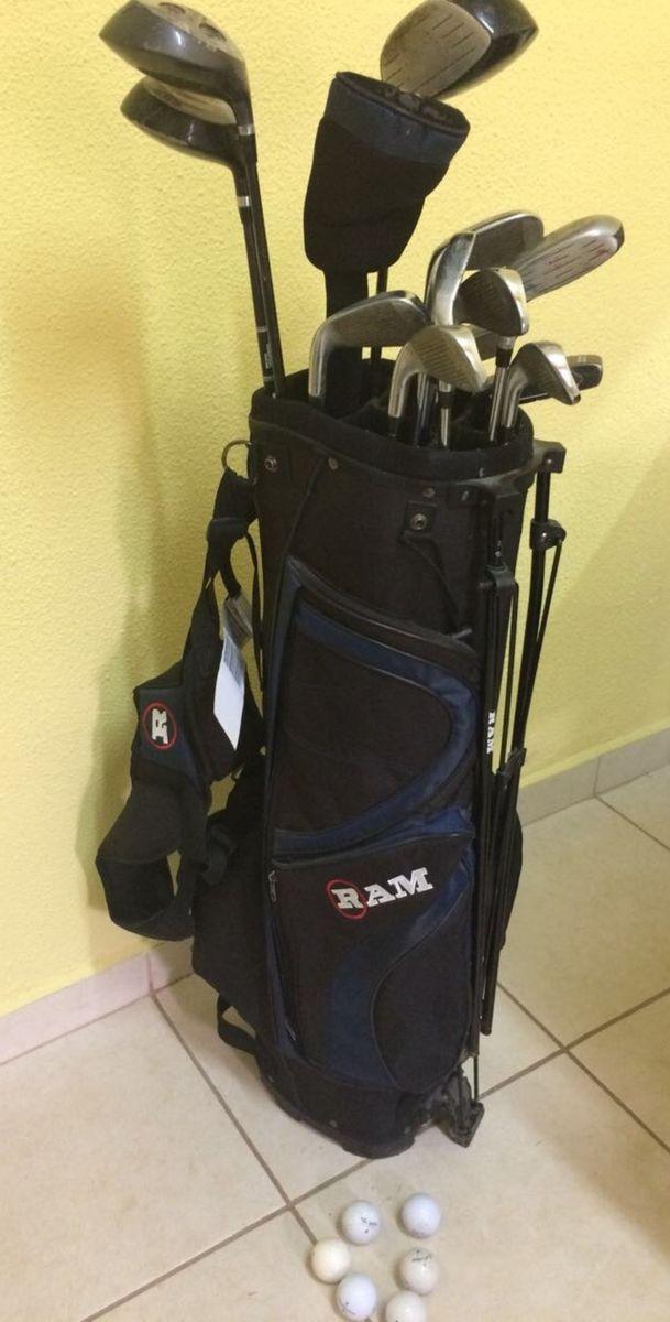 ff66da68b conjunto de golfe ram com 13 tacos e 8 bolas - esportes e outdoor ram  authentic