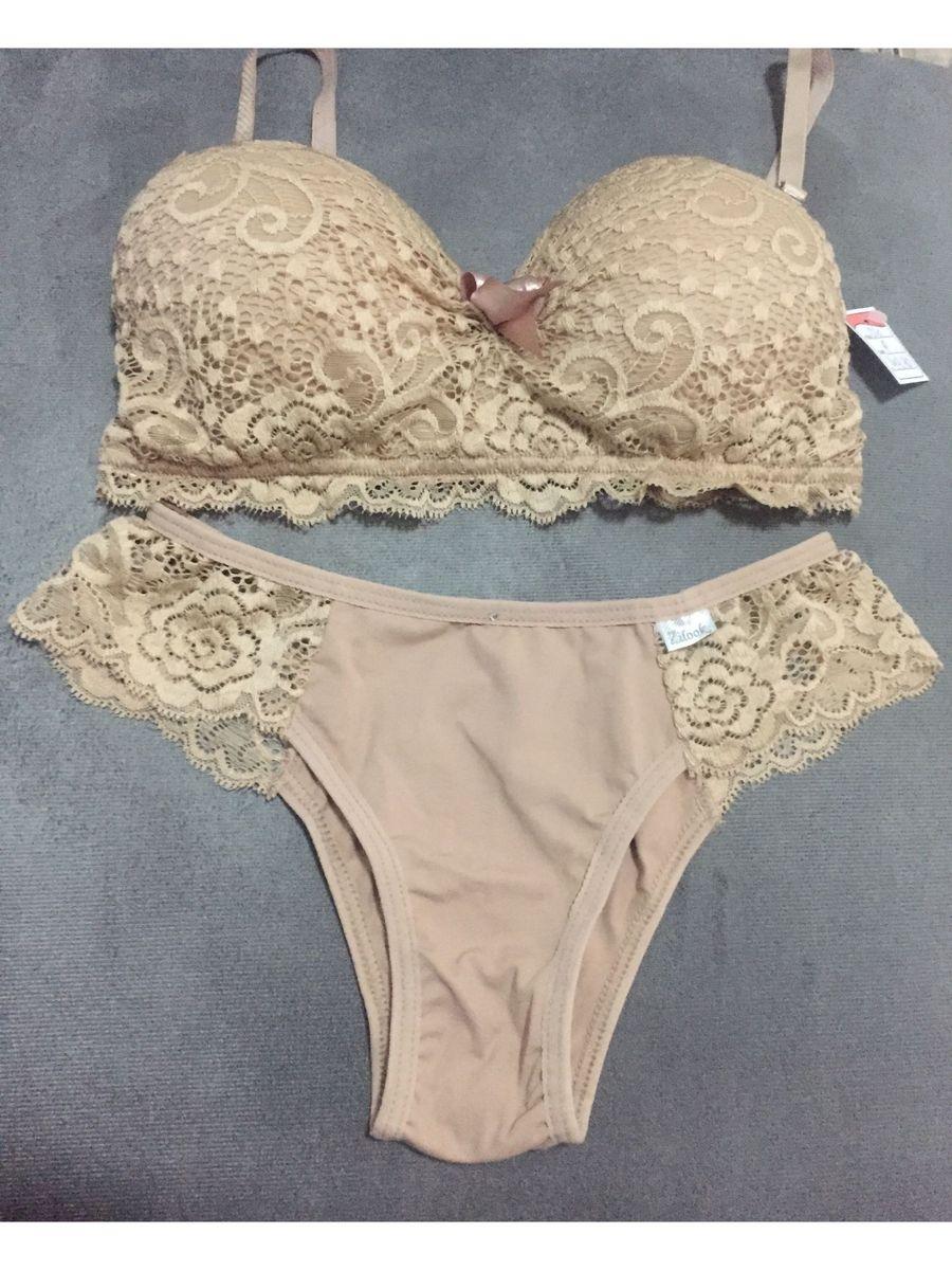 ed121f5ad5525 conjunto de lingerie com renda - lingerie sem marca