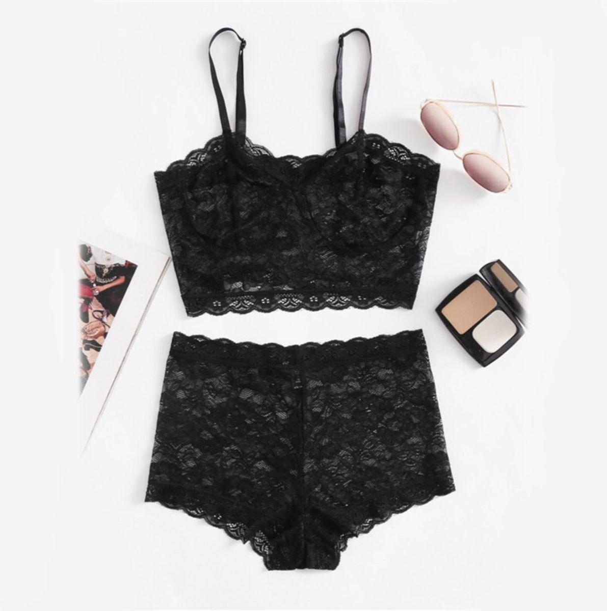 8da6f0eab2c99 conjunto de lingerie renda - lingerie sem marca.  Czm6ly9wag90b3muzw5qb2vplmnvbs5ici9wcm9kdwn0cy82mji4otuyl2ewmmu0mzuwm2jiztnmodywmjjmnwe5yzi0mzbhmdmylmpwzw  ...