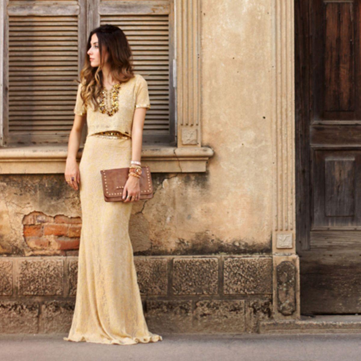 conjunto dourado - saias viber