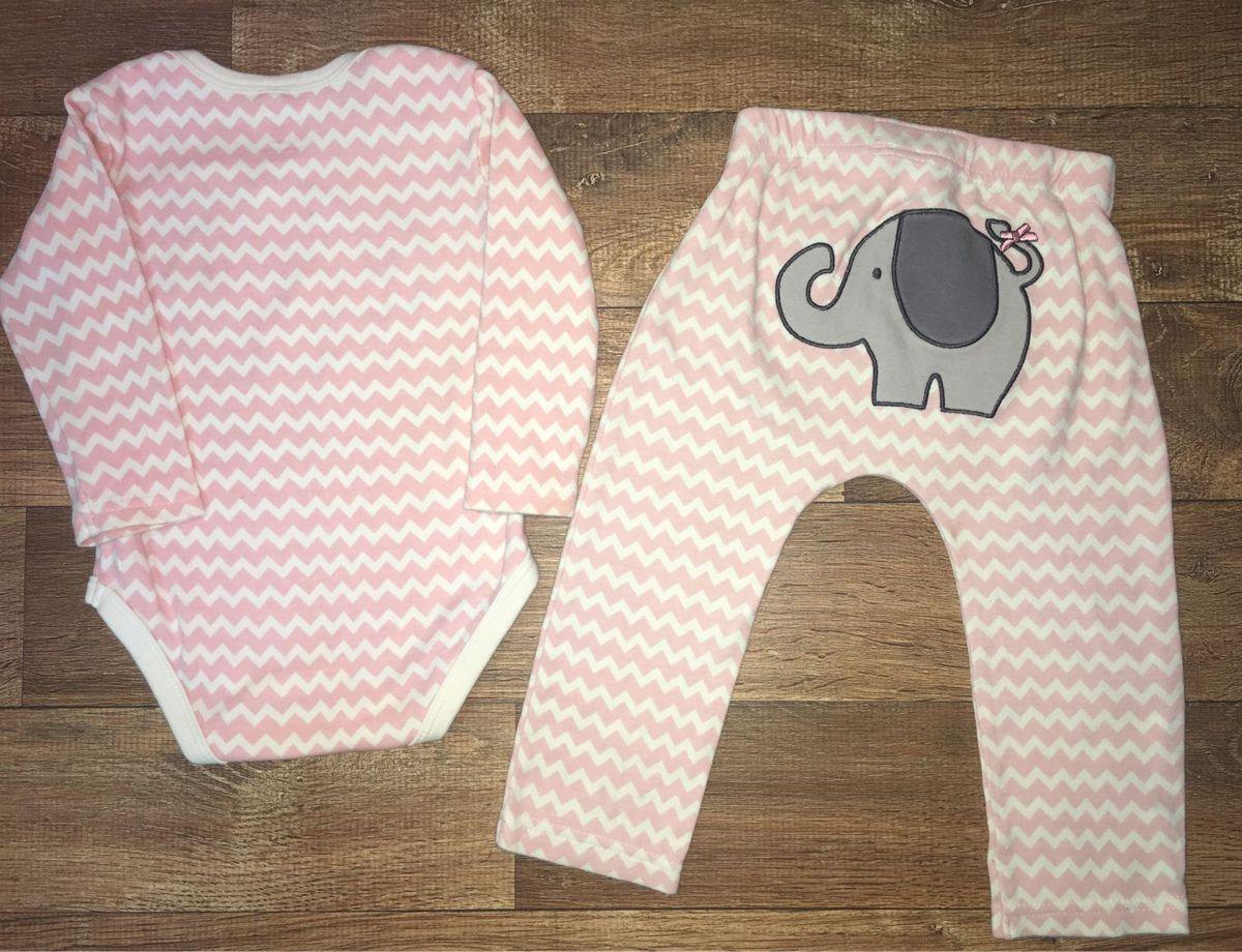 bf852974b5 Conjunto Estampa Elefante