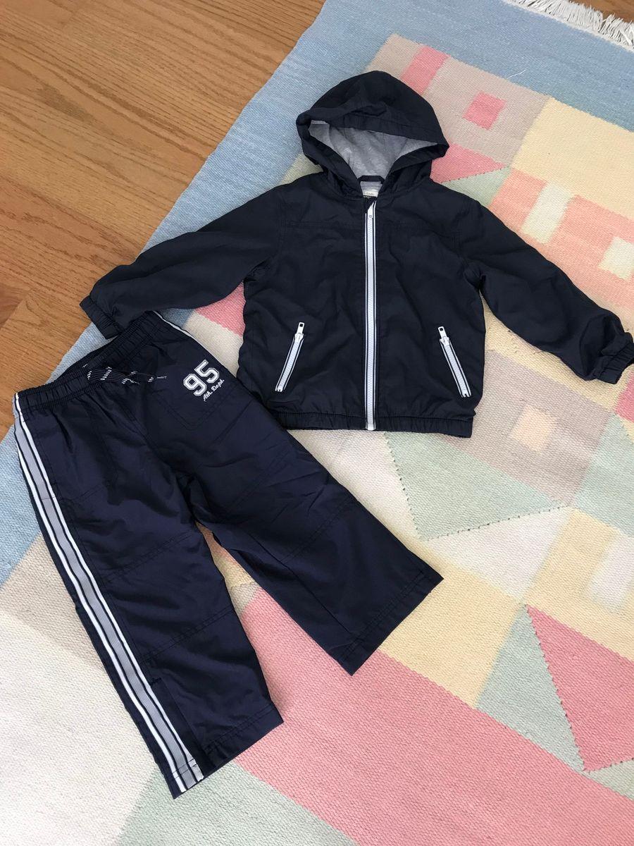 f0f409279a conjunto frio forrado importado blusa gymboree 2-3 anos e calça oshkosh  bgosh 3 anos