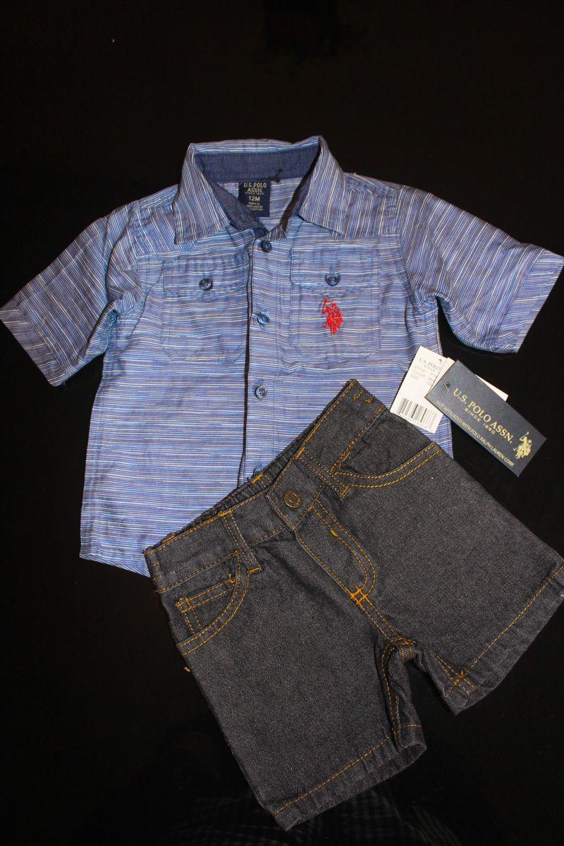 61fefef4f0 Conjunto Polo Ralph Lauren Novo com Etiqueta | Roupa Infantil para ...