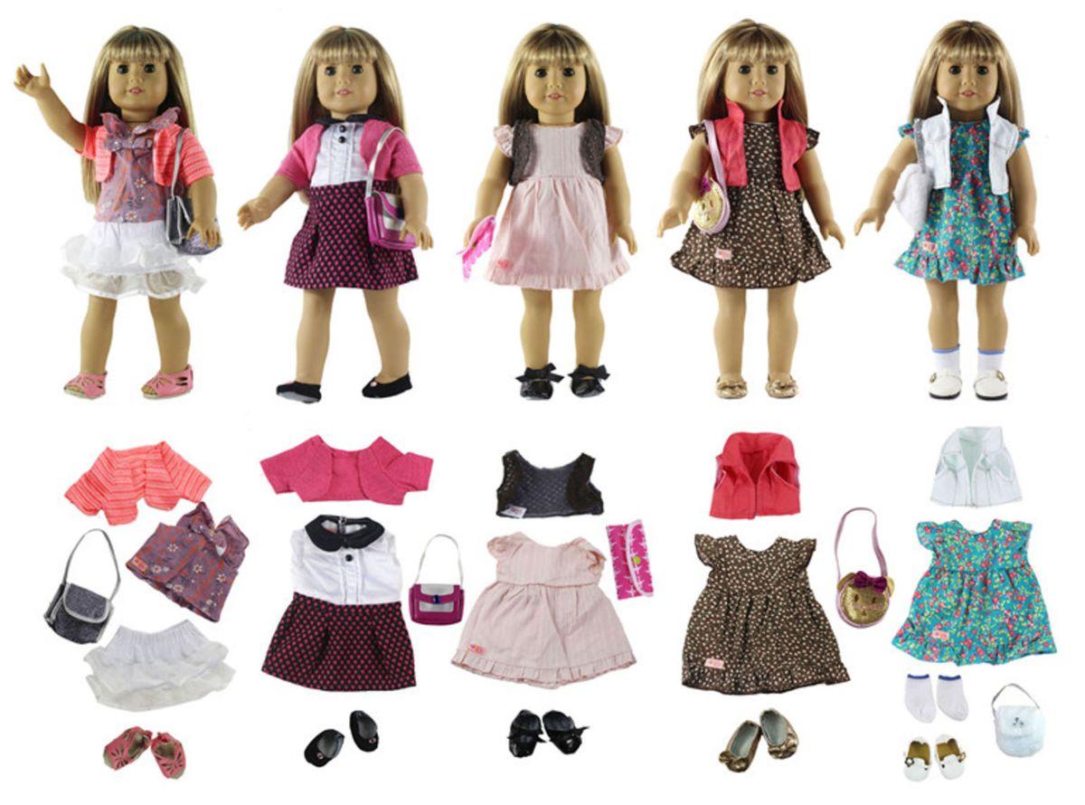 097735d90a kit roupa sapato bolsa american girl reborn 45cm boneca - crescidinhos npk  collection