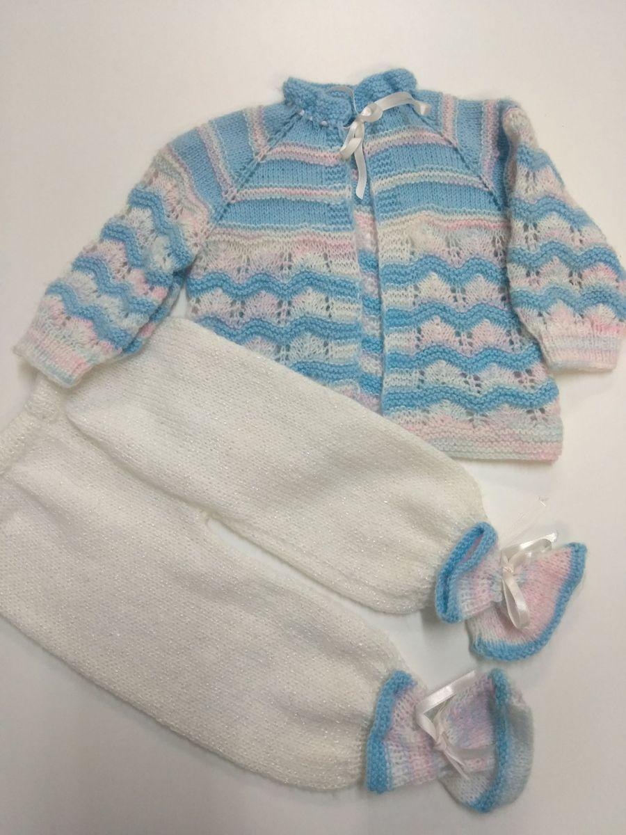 31f159a9ec87a conjunto tricô bebê - bebê feito a mao.  Czm6ly9wag90b3muzw5qb2vplmnvbs5ici9wcm9kdwn0cy8xmtm2mzawlzc4otc3yta3nguwnzm4mjrhmdflzja4m2y1zdrlndu5lmpwzw  ...