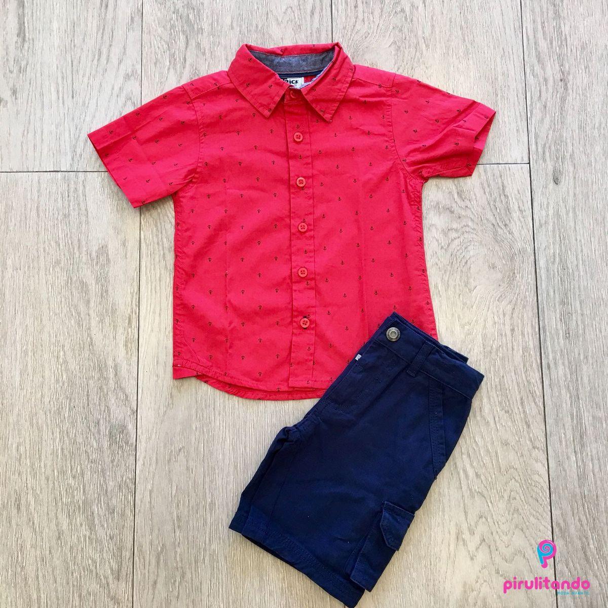 ... camisa pólo e bermuda - menino trick nick.  Czm6ly9wag90b3muzw5qb2vplmnvbs5ici9wcm9kdwn0cy8xmdi0otazms82ztq2zdqwmdq5mjc0ywu5yji2yzzhzgq3otvhnjfiny5qcgc 8ab6a61bf609a