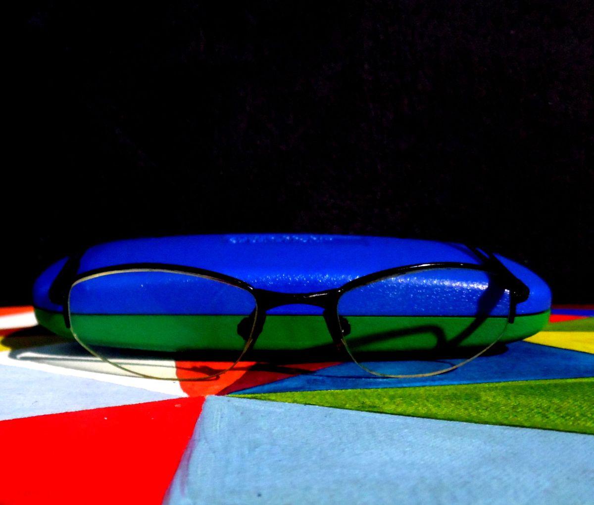 Cores Unidas  3   Óculos Masculino United Colors Of Benetton Usado ... d7a8487d0e