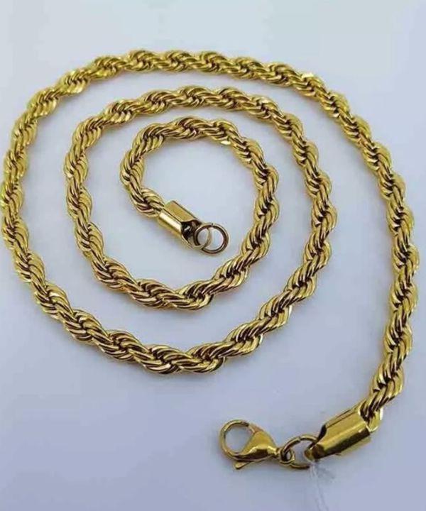 a158c0d85c8 Corrente Cartier 10mm Banhada a Ouro