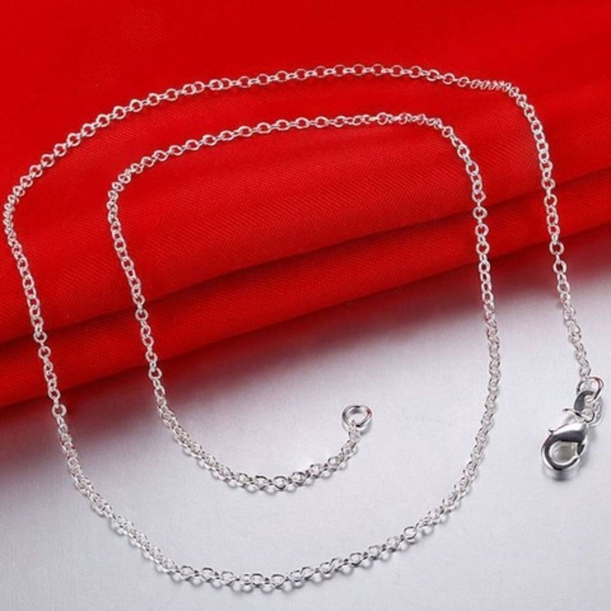 65e22f899be Corrente Cartier Unissex - Banhada em Prata 925 Frete Gratis ...