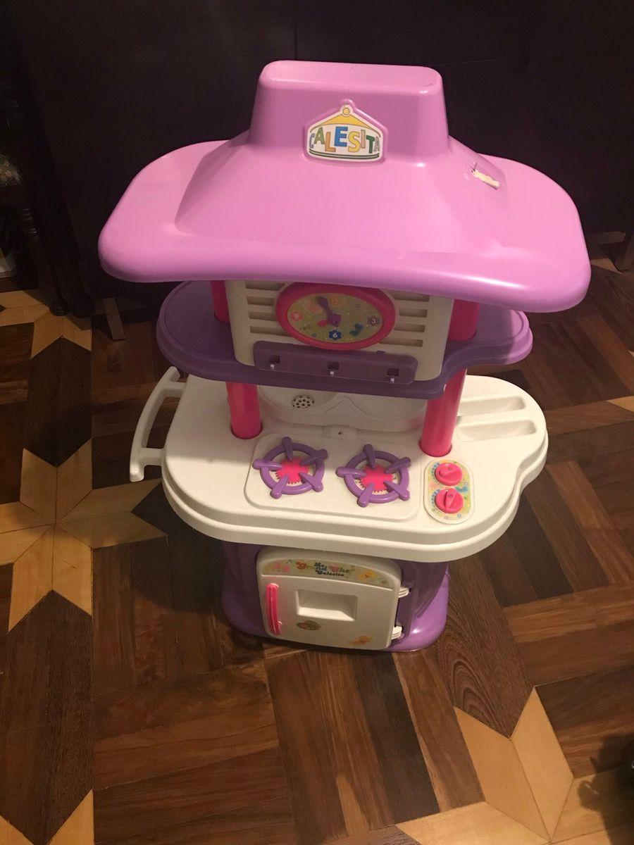 Cozinha Infantil Le Grand Chef Calesita Brinquedo Para Bebes