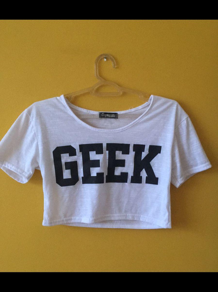 cropped geek - blusas signature