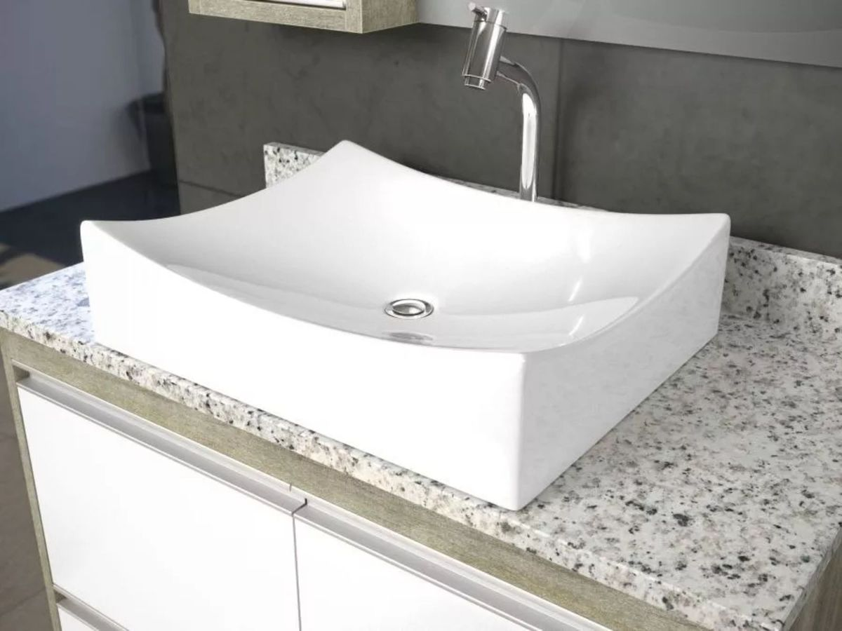 Cuba Pia Banheiro Apoio Branco Lindissima Item De Decoracao Toleato Nunca Usado 30378018 Enjoei